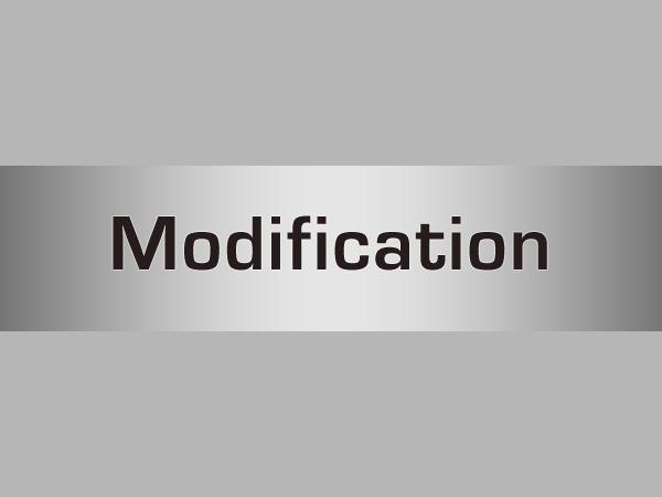Synthesizer Modification
