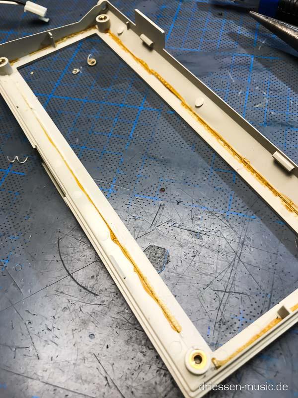 Akai MPC3000 Display Rahmen