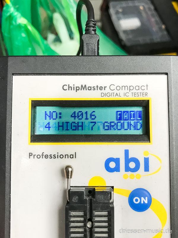 Repair Yamaha CS-30 Synthesizer Reparatur Service