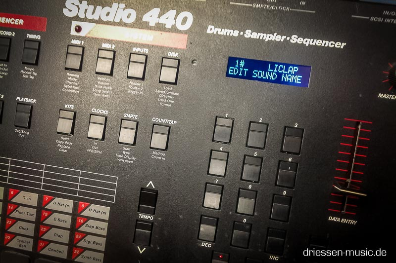 Sequential Circuits Studio 440 with a new display.