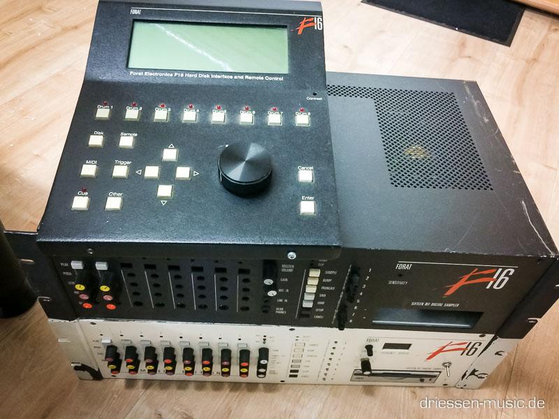 Forat F16 Drum Machine Sampler Reparatur Service