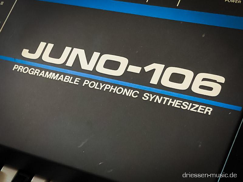 Repair Roland Juno 106 Synthesizer Reparatur Service